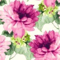 Colecciones de Papeles Pintados muy primaverales, llenos de flores, ramas y filigranas