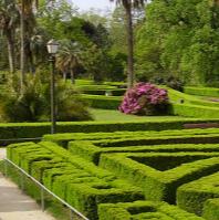El afrancesado parque Castrelos de la ciudad de Vigo