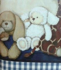 Detalle decoración habitación infantil.