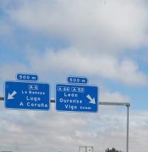 A6 destino Galicia